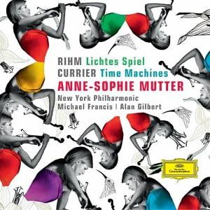 CD cover Anne-Sophie Mutter: Rihm/Currier