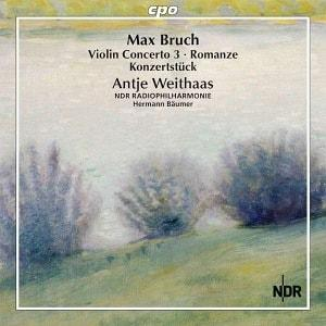 CD cover Bruch: Works for violin and orchestra (Vol. 3)