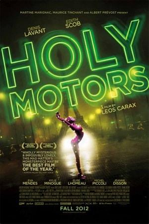 DVD cover Holy Motors