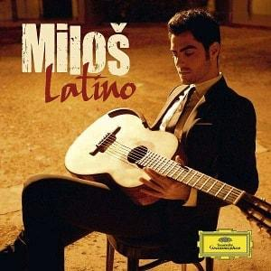 CD cover Miloš Karadaglić: Latino